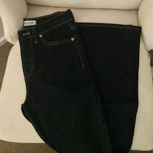 Madewell Jeans - Madewell DARK wash flare NWOT 25